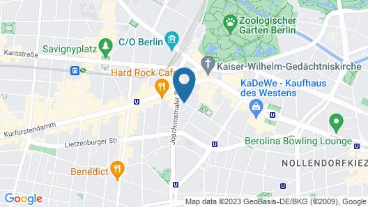 Dorint Kurfürstendamm Berlin Map