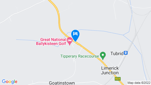 Great National Ballykisteen Golf Hotel Map