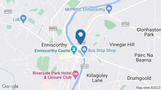 Treacy's Hotel Map
