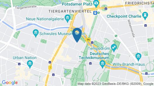 fjord hotel berlin Map