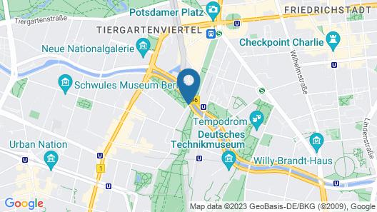 Grimms Potsdamer Platz Map