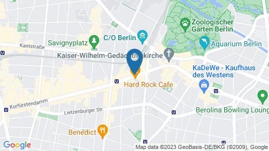 Hotel Zoo Berlin Map