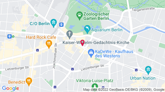 about:berlin Hotel Map