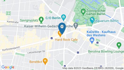 Lindner Hotel Am Ku'damm Map