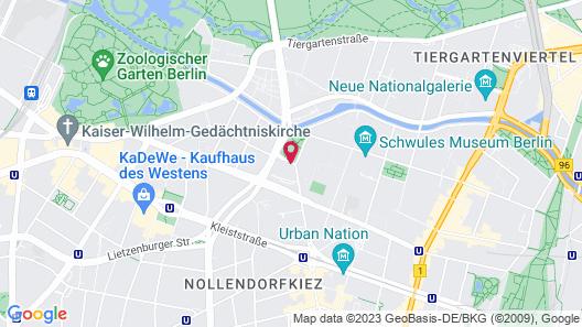 Hotel Berlin, Berlin Map