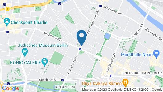 Motel One Berlin Mitte Map
