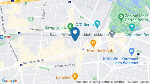 NH Berlin Kurfürstendamm Map
