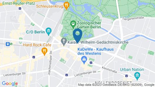 Hotel Palace Berlin Map