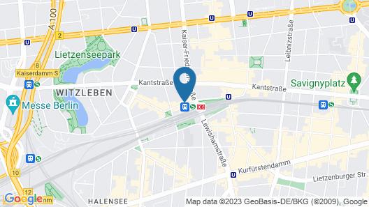 Art Hotel Charlottenburger Hof Map