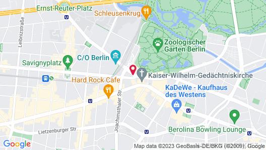Waldorf Astoria Berlin Map