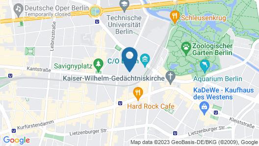 Savoy Berlin Map