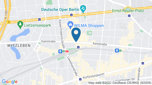 Hotel Domicil Berlin By Golden Tulip Map