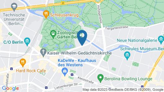 InterContinental Berlin Map