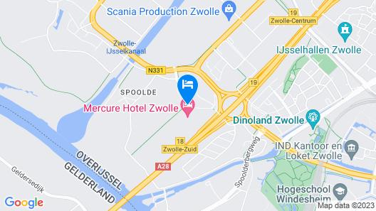 Mercure City Zwolle Hotel  Map
