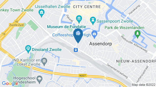 Pillows Grand Boutique Hotel Ter Borch Zwolle Map