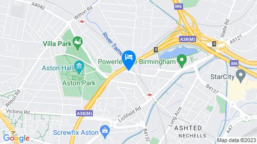 The Aston Inn Map