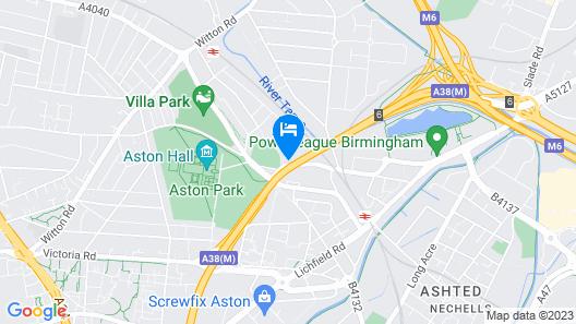 The Aston Tavern Map