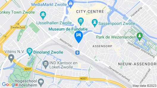Bilderberg Grand Hotel Wientjes Map