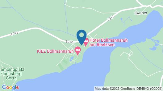 Hotel Bollmannsruh am Beetzsee Map