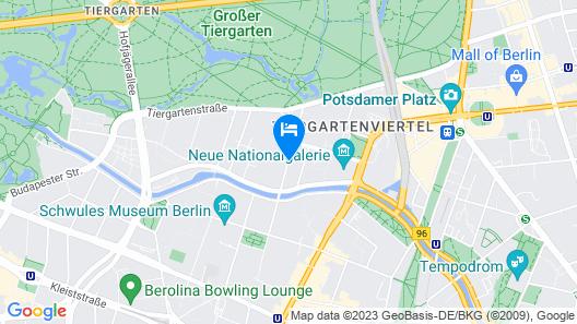 Maritim Hotel Berlin Map