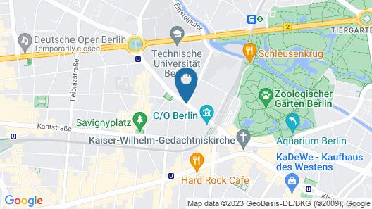 Hotel Indigo Berlin – Ku'damm Map