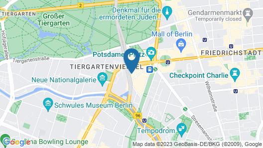 Grand Hyatt Berlin Map