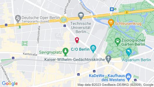 Hotel am Steinplatz, Autograph Collection Map