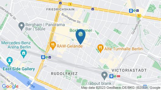 Luxoise Apartments Berlin Friedrichshain Map