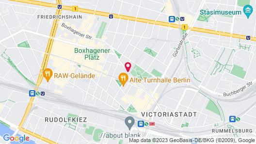 Almodóvar Hotel Biohotel Berlin Map