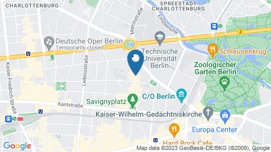 Hotel OTTO Map