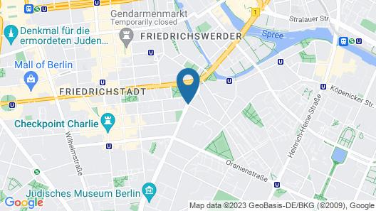 Courtyard by Marriott Berlin City Center Map