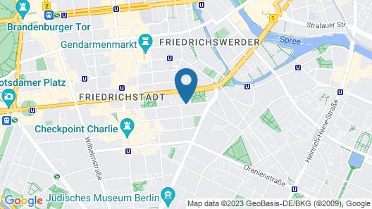 Adina Apartment Hotel Berlin CheckPoint Charlie Map
