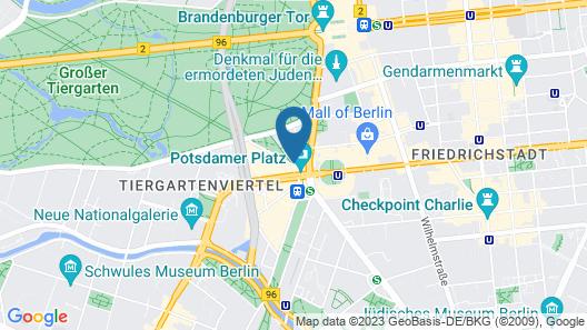 The Ritz-Carlton, Berlin Map