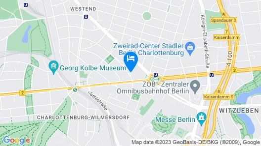 Hotel Villa Kastania Map