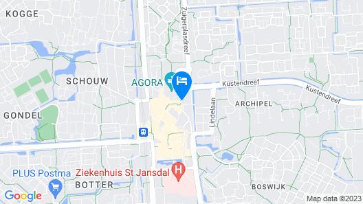Apollo Hotel Lelystad City Centre Map