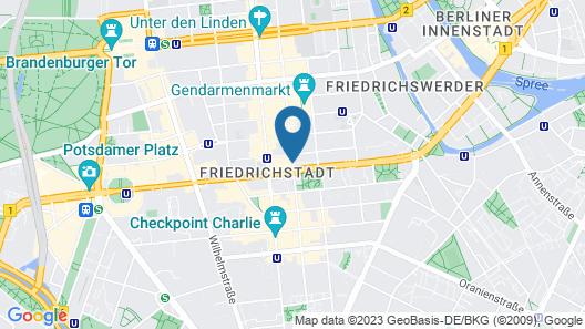 Select Hotel Berlin Gendarmenmarkt Map
