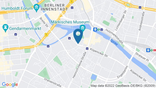 The Dude Berlin-Mitte Map