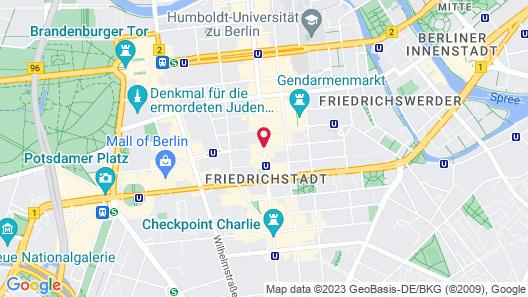 The Mandala Suites Berlin Map