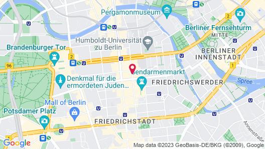 Regent Berlin Map