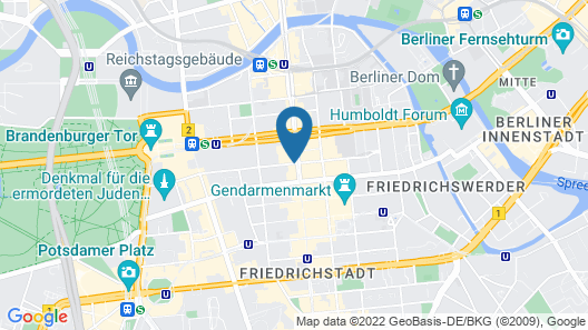 The Westin Grand, Berlin Map