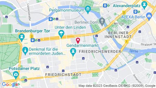Rocco Forte Hotel De Rome Berlin Map