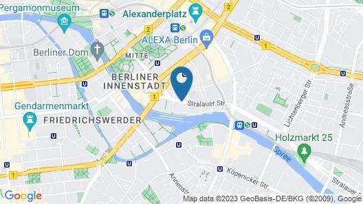 Holiday Inn Express Berlin - Alexanderplatz, an IHG Hotel Map