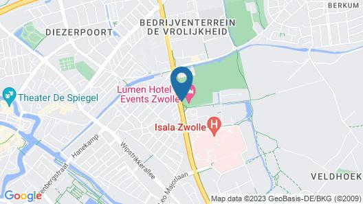 Lumen Hotel Zwolle Map