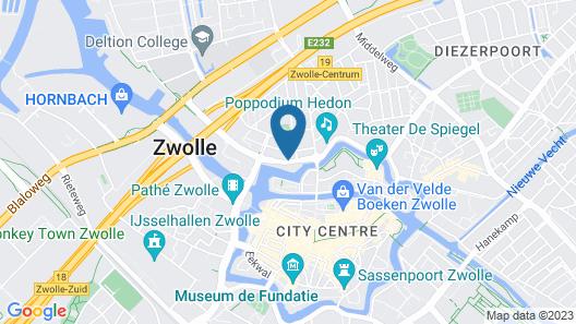 Campanile Hotel Zwolle Map