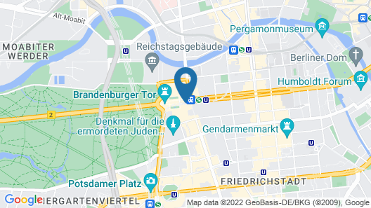 Hotel Adlon Kempinski Map