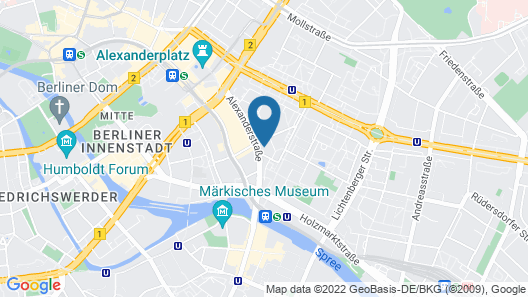 The Student Hotel Berlin Map