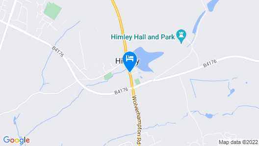 Himley House Hotel by Greene King Inns Map