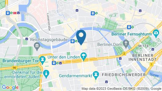 NH Collection Berlin Mitte Friedrichstrasse Map