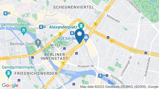 Motel One Berlin-Alexanderplatz Map