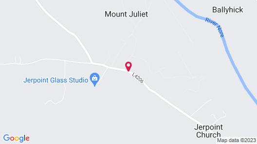 Mount Juliet Estate, Autograph Collection Map